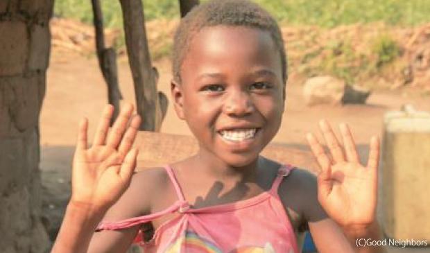 今年の主人公ウガンダのアグネスちゃん