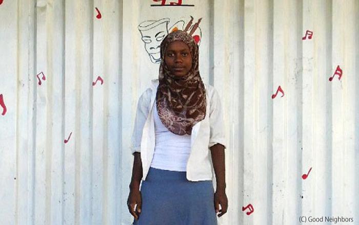 エチオピアのベリヤバーケットちゃん18歳