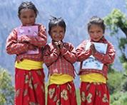 ネパールの子ども達