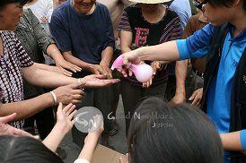 中国四川省大地震災害支援