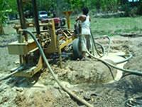 二基の井戸が完成