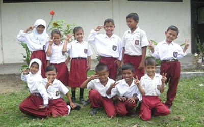 インドネシア・ムラボの子どもたち