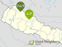 ネパール地図