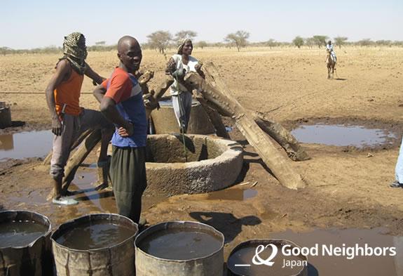 以前、村人が使っていた井戸