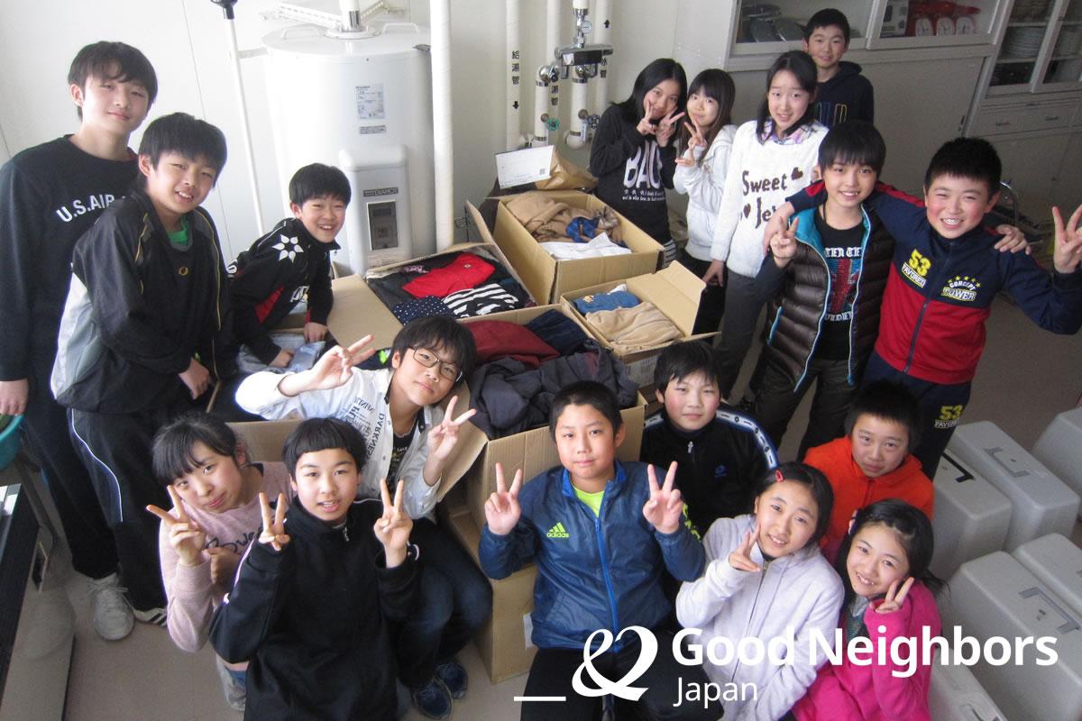 清田南小学校のみなさん、ありがとうございました