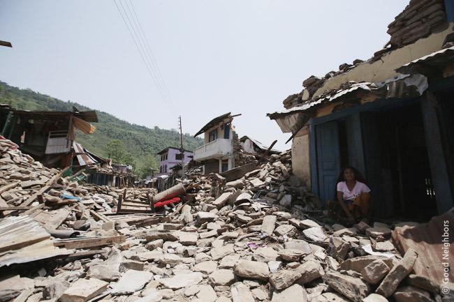 アルアルバン村595世帯に第二回物資配布